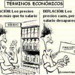 Inflación vs deflación