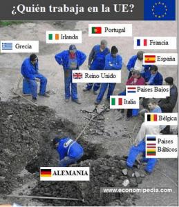 quien trabaja en Europa