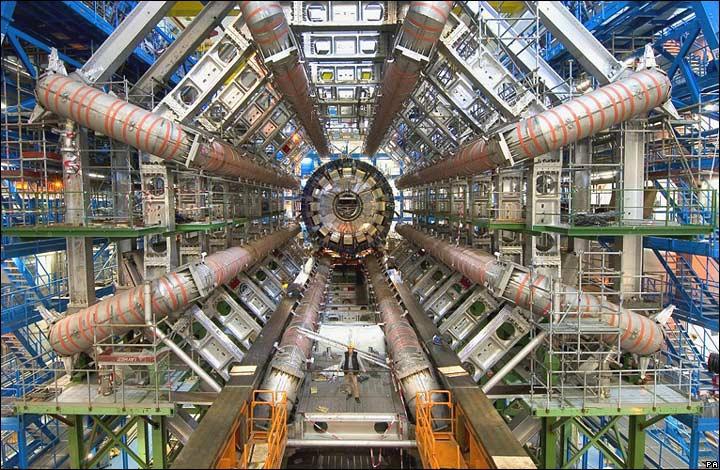Foto del colisionador de partículas por flickr.com