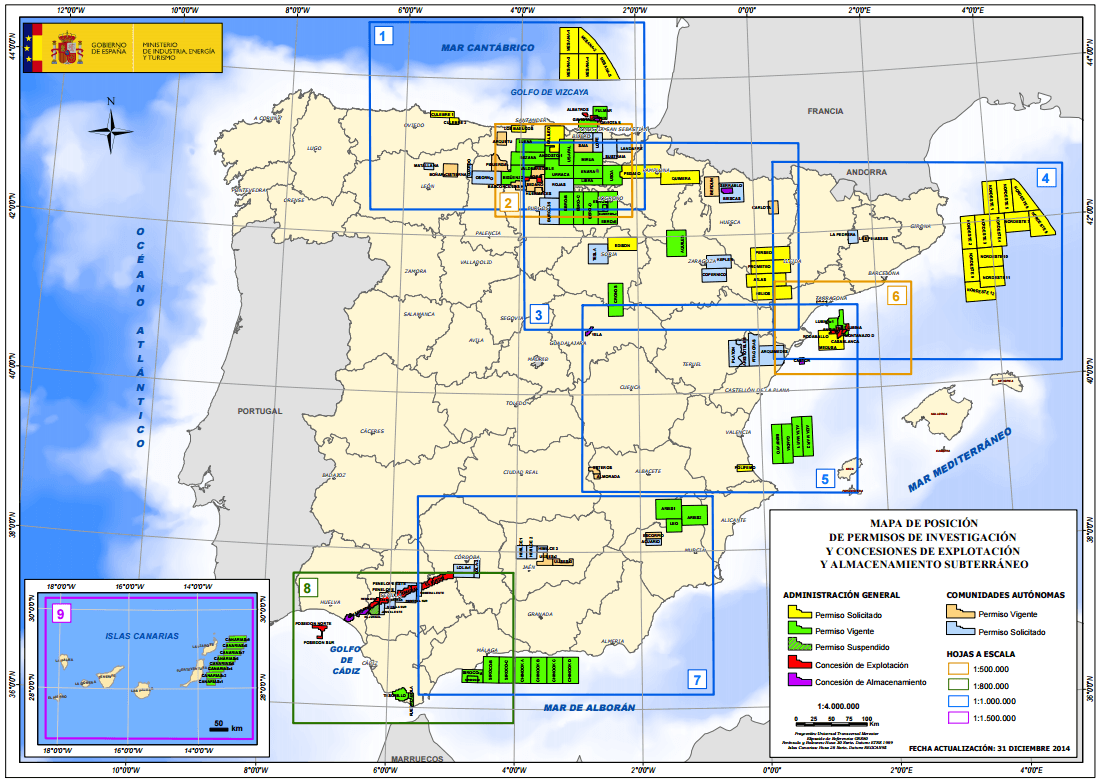mapa hidrocarburos