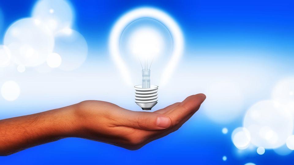 Éxito, energía e idea