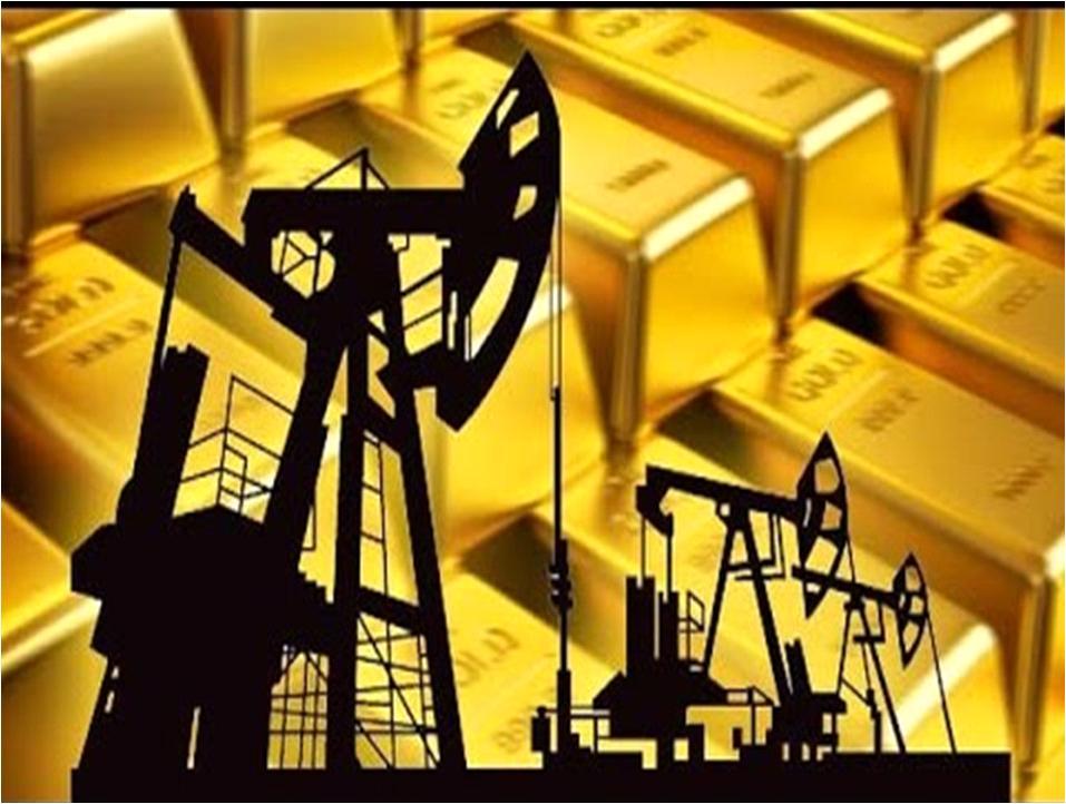 Petróleo, industria  oro, economía mexicana