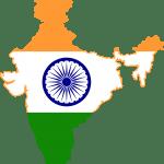 Bandera India terreno