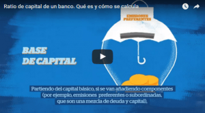 ratio de capital de un banco