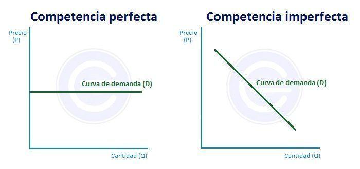 Demanda competencia perfecta y competencia imperfecta