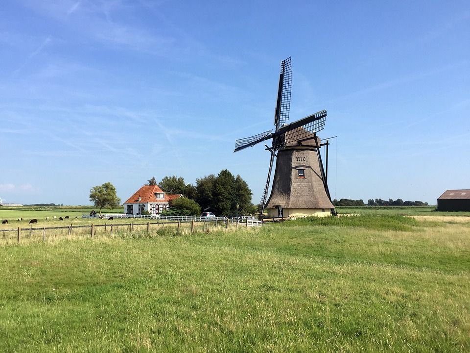 Mill - Molino -granja -Holanda