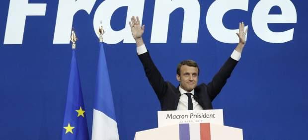 Emmanuel Macron elecciones Francia