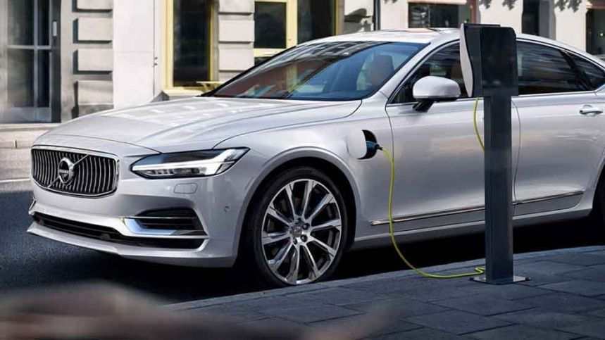 Volvo coche eléctrico