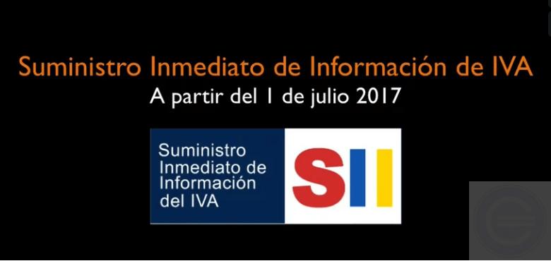 suministro inmediato de información SII
