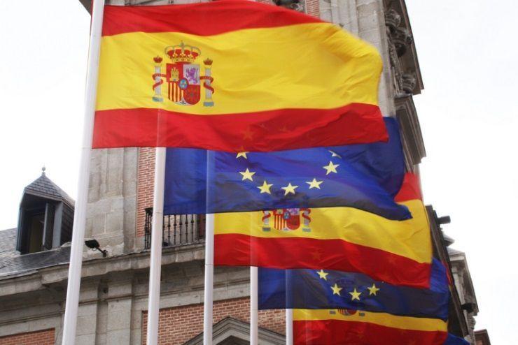Bandera España Unión Europea
