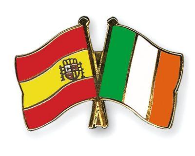Bandera España E Irlanda