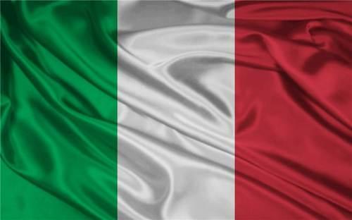 Bandera Italia