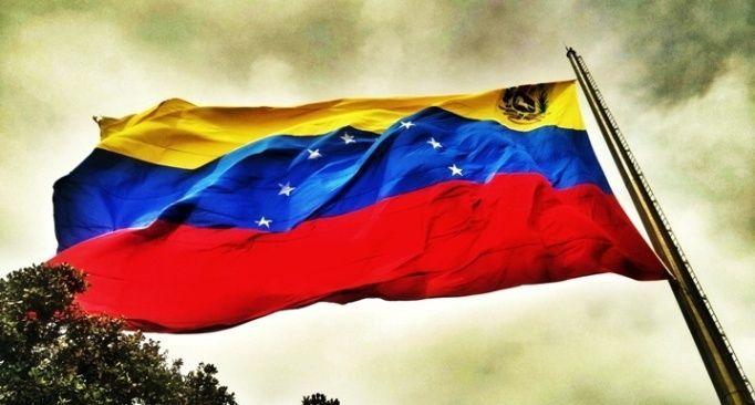 Bandera De Venezuela En El Waraira Repano