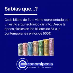 Billetes Euro Arquitectura