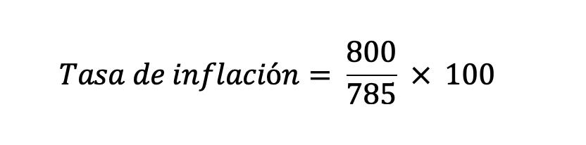 Cálculo Tasa De Inflación 1
