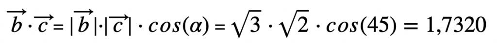 Cálculo Del Producto Escalar 1
