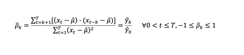 Coeficiente De Autocorrelación