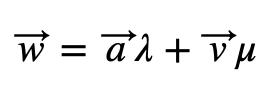 Combinación Lineal 1