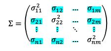 Covarianzas De La Matriz Varianza Covarianza