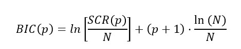 Criterio De Información Bayesiano