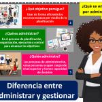 Diferencia Entrea Administrar Y Gestionar