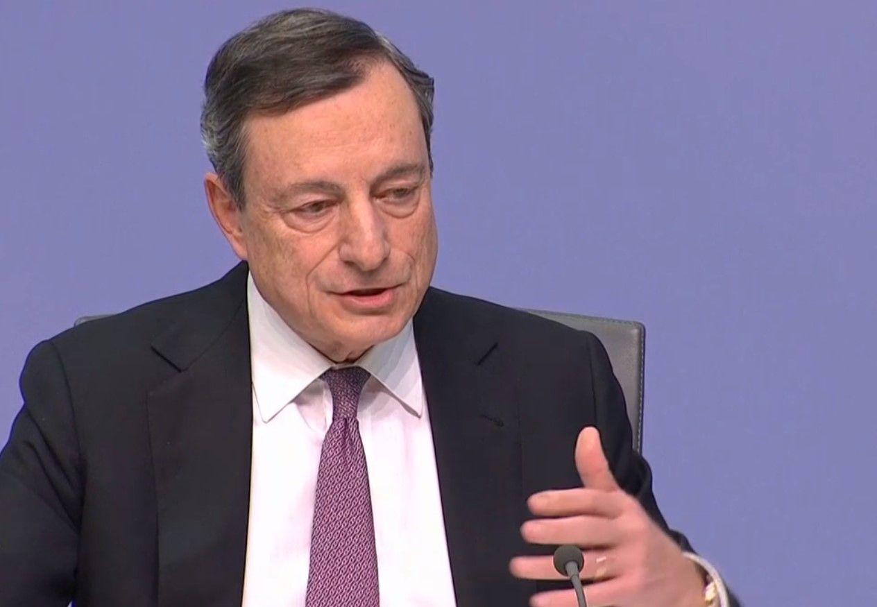Draghi sobre Donald Trump