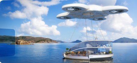 Drones futuro ciudades