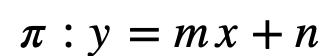 Ecuación General De La Recta 1