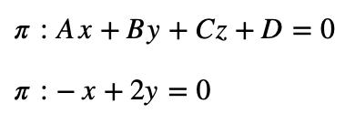 Ecuación General Del Plano Y Ecuación Del Plano