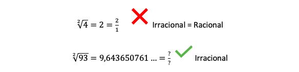 Ejemplo De Un Número Racional Y Un Número Irracional 1