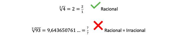 Ejemplo De Un Número Racional Y Un Número Irracional