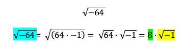 Ejemplo Números Imaginarios