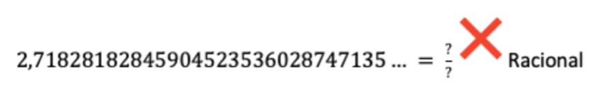 Ejemplo Número Irracional