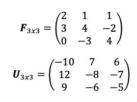 Ejercicio Matrices