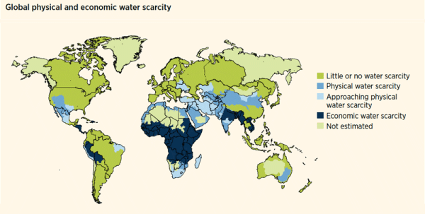 Escasez de agua 2013 ONU