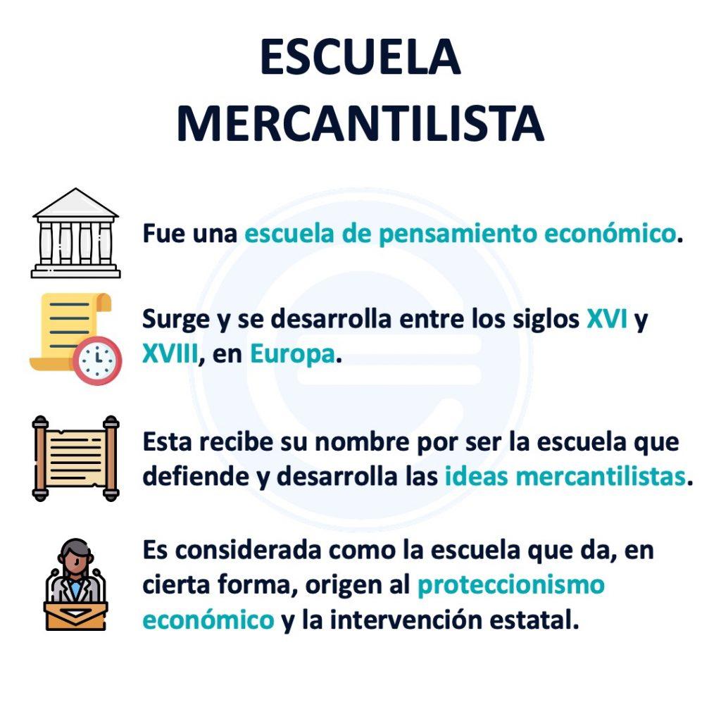 Escuela Mercantilista