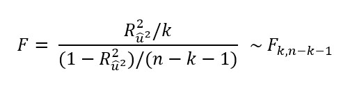 Estadístico F Para Contraste De White