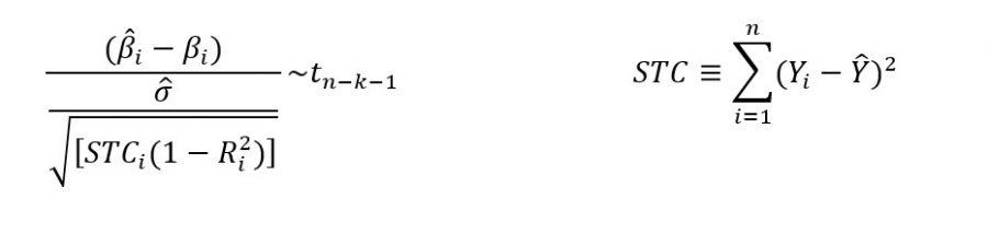 Estadístico T Para Durbin Watson