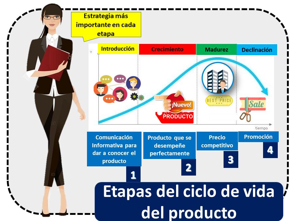 Etapas Del Ciclo De Vida Del Producto Estrategia Principal
