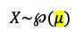 Expresión Distribución De Poisson
