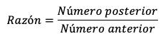Fórmula Progresión Geométrica
