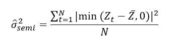 Fórmula Semivarianza