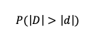 Fórmula Valor P