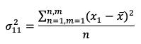 Fórmula Varianza 1