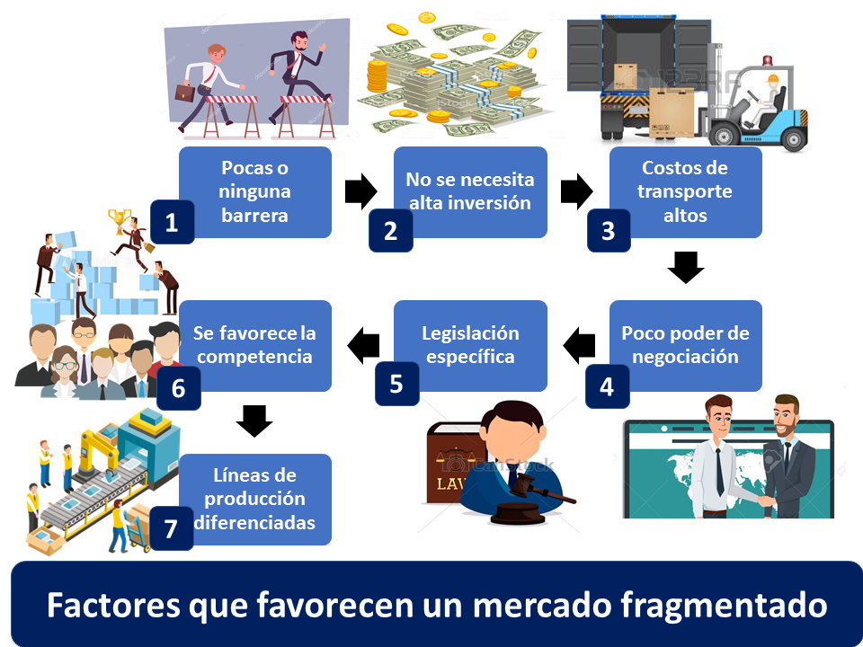 Factores Que Favorecen Un Mercado Fragmentado