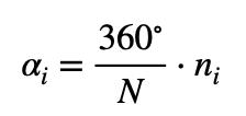 Fórmula Ángulo Diagrama De Sectores