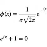Fórmulas Que Contienen El Número E