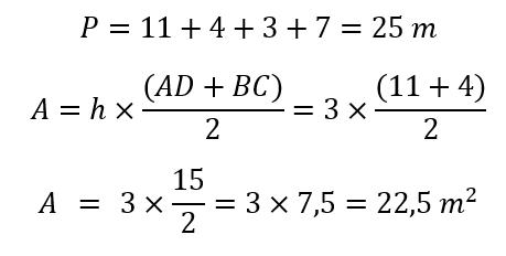 Formula Trapecio Escaleno