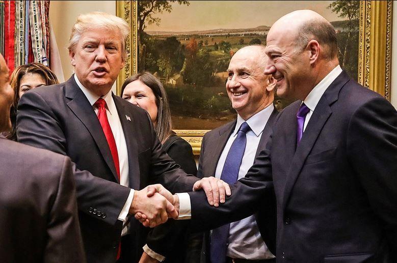 Gary Cohn Con Donald Trump