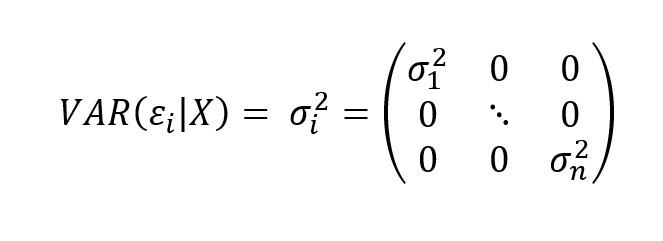 Heterocedasticidad Econometria